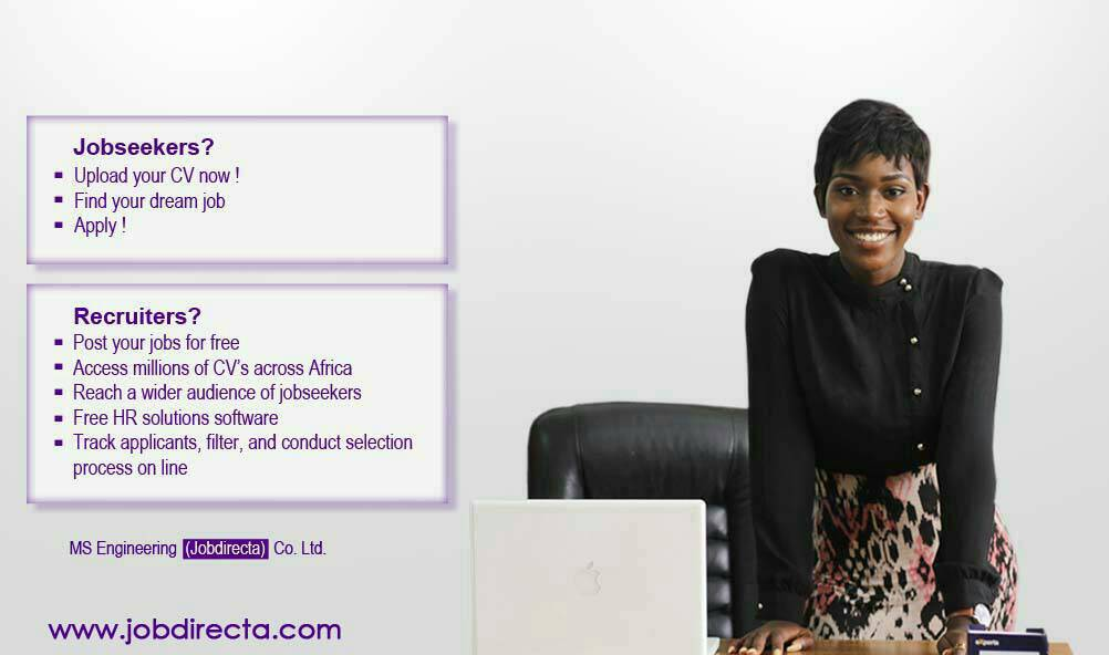find jobs in Ghana -Jobdirecta