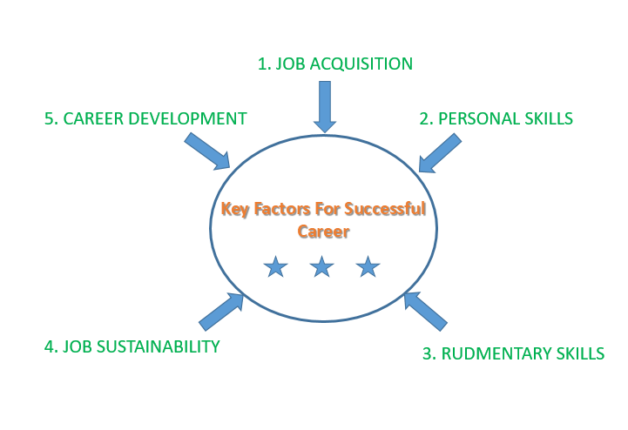 5 critical factors for career success